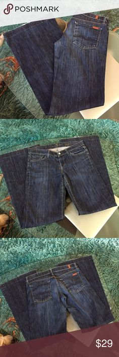 7 for all mankind flare jeans Great condition flare 7 for all mankind jeans size 30 inseam 33 7 For All Mankind Jeans Flare & Wide Leg