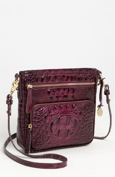 Brahmin 'Melbourne - Cleo' Crossbody Bag available at Brahmin Handbags, Dior Handbags, Brahmin Bags, New Handbags, Fashion Handbags, Purses And Handbags, Fashion Bags, Designer Handbags, Leather Shoulder Bag