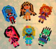 Monster High hama beads by Swedish Sparkles
