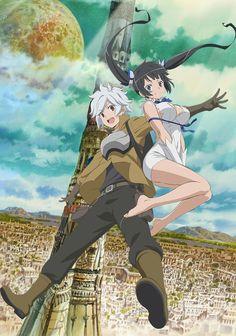 Dungeon ni Deai o Motomeru no wa Machigatte Iru Darou ka Anime GER-Sub
