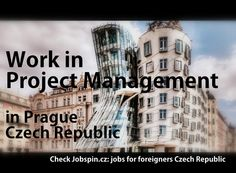 Work in Prague as: PROJECT MANAGER! APPLY AT: http://www.jobspin.cz/?menu=ad_detail&ad_id=1284 #projectmanagement #Prague #jobs #CzechRepublic