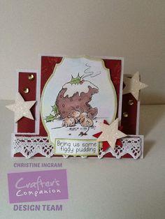 Moonbeam Meadow Christmas Stamps
