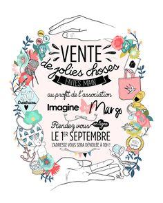 Affiche Vente Imagine for Margo