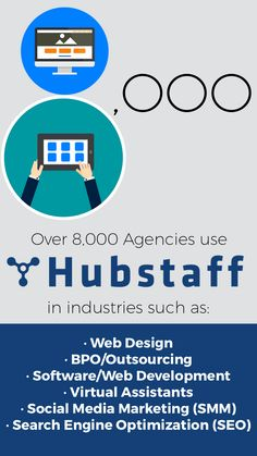 Over Agencies Love Hubstaff Hubstaff has agencies ranging from 2 employees to 60 employees using our software. We've got agencies in over 40 countries around the world, and across all industries. Countries Around The World, Around The Worlds, Tracking Software, Virtual Assistant, Search Engine Optimization, Web Development, Social Media Marketing, Web Design, Learning