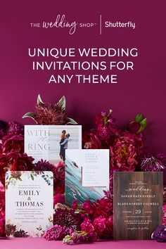 Design invites that will inform and delight. With a variety of styles and a how-to creation guide, we'll help you make your perfect wedding invitation. Get inspired with themes and ideas true to you. Summer Wedding Colors, Fall Wedding, Our Wedding, Wedding Venues, Wedding Stuff, Unique Wedding Invitations, Wedding Stationery, Party Invitations, Invitation Ideas