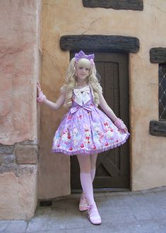 sweet hime lolita outfit :3