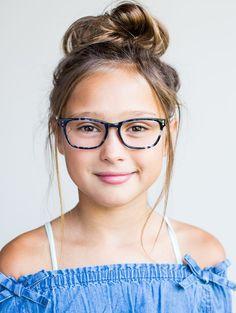 d3e7d0ad8af0 Limited Edition Kids Glasses    The Lauren Blue Slate