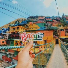 """Baguio"" Artist: @idolkockata Location: Valley of Colors Philippines #calligrascape #calligraphy #wanderlust #baguio #calligraphyph #philippines"