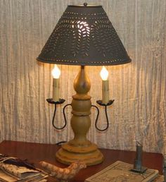 Diy Primitive Lamp Lighting Strikes Pinterest Lamps Primitives And
