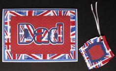 Union Jack Dad by Hollymoon Crafts on Folksy  £2.50