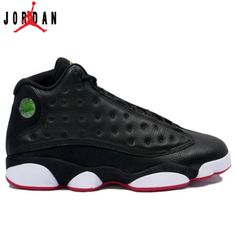 release date: 2dd09 e2598 414571-001 Air Jordan Retro 13 Playoffs Black White Varsity Red Vibrant  Yellow A13007,Jordan-Jordan 13 Shoes Sale Online