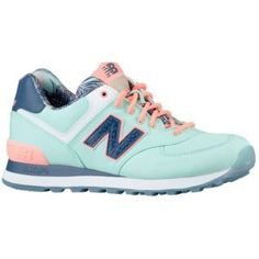 New Balance 574 - Women's - Teal