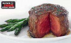 Ruth's Chris Steak at home...