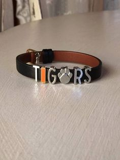 Detroit (or Clemson) Tigers KEEP Collective Jewelry #ikeepspirit