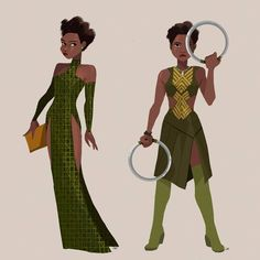 We Are Wakanda — Featured artist: Chi Ngo ( Black Panther Marvel, Shuri Black Panther, Marvel Fan, Marvel Dc Comics, Marvel Avengers, Marvel Heroes, Bruce Timm, Nakia Black Panther, Wakanda Marvel