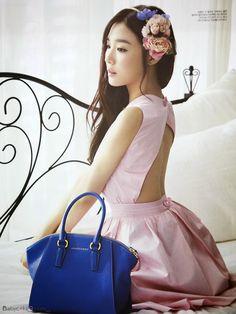 Tiffany Hwang SNSD Girls' Generation - Vogue Girl Magazine March Issue 2014