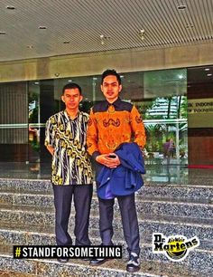 """I stand for standforsomething duta batik indonesia""."