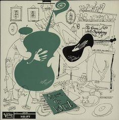 David Stone Martin album cover for slim gaillard lp