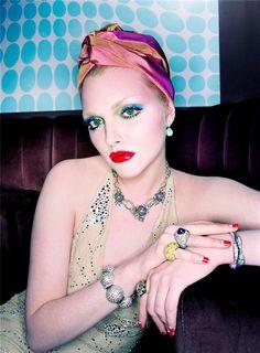 Sophie Dahl By Steven Meisel Vogue Italia February