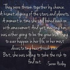 """13 Likes, 3 Comments - Seren Huxley (@serenhuxley) on Instagram: """"Love is always worth the risk, isn't it? Feel free to like, comment, and share—with a little…"""""""