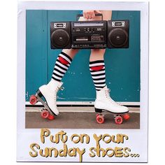 Put on your Sunday shoes.  #NuffSaid #Footloose #PutOnYourSundayShoes #Sunday #Shoes #Funday #SundayFunday #Weekend #CarpeDiem #SeizeTheDay #PR #RhonnaDesigns #NRPRgroup
