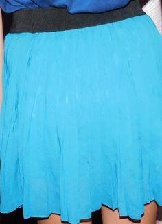 Kup mój przedmiot na #vintedpl http://www.vinted.pl/damska-odziez/spodnice/10293909-niebieska-spodniczka-chillin