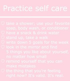 pinterest   bellaxlovee ✧☾ Things To Do Tonight, Positive Mental Health, Hoe Tips, Baddie Tips, Girl Tips, Beauty Care, Beauty Tips, Self Care Routine, Look In The Mirror