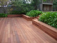 Timber decking has become a focal point for the family home. #deck