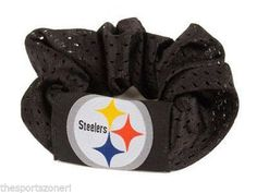 Pittsburgh Steelers Hair Twist Scrunchie #PittsburghSteelers Visit our website for more: www.thesportszoneri.com