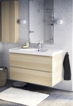 For a clean look you love (and the storage you need), your dream IKEA bathroom is waiting!