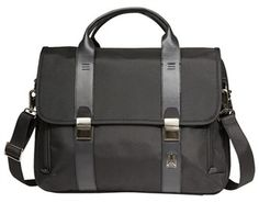 """The Travelpro Executive Choice Friendly Messenger Brief is a 15.6"""" computer brief perfect for today's business and frequent travelers."""