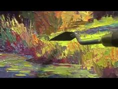 Palette knife and Impressionism Oil Painting - YouTube  This is one of the best palette knife teachings I've seen because he explains why he's doing what he does, talks shadow planes, etc.  Very excellent.