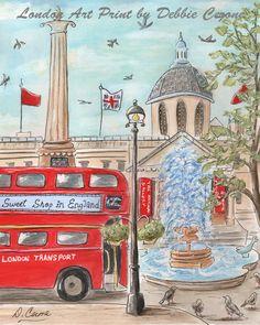 Travel Themed Nursery Union Jack London Baby London Decor