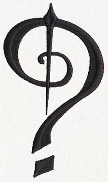 Fantasy Punctuation - Question Mark_image