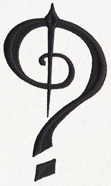 Fantasy Punctuation - Question Mark_image