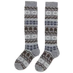 Doré Doré Angora knee socks Gray | Melijoe.com