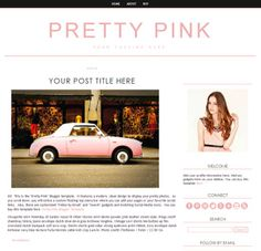 Weebly Templates. weebly template in lovely coral with website ...