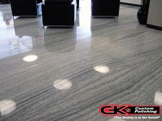 We can polish your #marble and #granite floors to perfect! Call us at (440) 937-4457 for a free estimate.