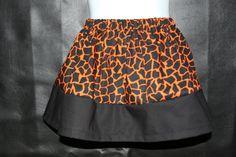 Halloween twirl skirt by CocosMonkeyCreations on Etsy, $12.00
