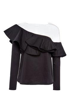 Lazarote One Shoulder Top by JOHANNA ORTIZ for Preorder on Moda Operandi