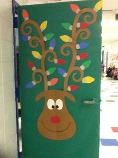 Classroom door decoration by esperanza