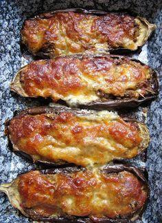 La cuisine d'ici et d'ISCA: Aubergines gratinées