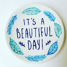 A lovely contrast to today's rainy London! 🌿Made by at MYO (hope you managed to dry down well! Pinch Pots, London Life, Pottery Painting, Just Giving, Beautiful Day, Make Your Own, Decorative Plates, Contrast, Craft Ideas