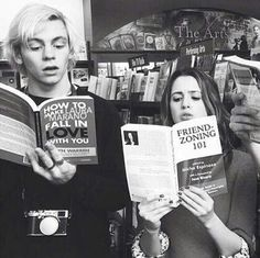 """Who edited Ross's book to """"how to make a LAURA MARANO fall in love with you""""? H aha clever."""