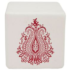 Regal Badge Ottoman.