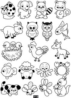 Coloring scrapbook patterns coloring pages, drawing for kids Pattern Coloring Pages, Animal Coloring Pages, Coloring Book Pages, Scrapbook Patterns, Baby Art, Woodland Creatures, Drawing For Kids, Cute Drawings For Kids, Digi Stamps