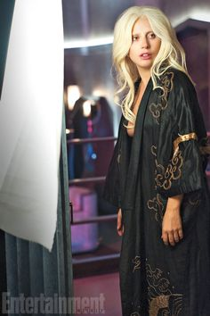The Countess, the character played by Lady Gaga on American Horror Story: Hotel, is not just a bloodsucker — she's a sexy bloodsucker. Exhibit A: this exclusive new image of a robed (or disrobed) Countess, the owner of the Hotel Cortez, from the latest season of FX's anthology series.