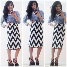 Chevron for days  #modest #outfitideas #mystyle
