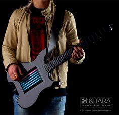 Kitara Touchscreen Guitar: Strumming Without Strings  <3 <3 <3