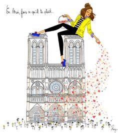 illustration roxy lapassade notre dame.jpg - Roxy LAPASSADE | Virginie